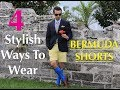 4 Stylish Ways To Wear BERMUDA SHORTS! (15% Discount Code)