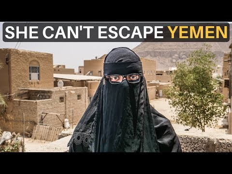 SHE CAN'T ESCAPE YEMEN