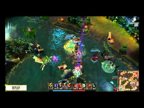 SK Telecom vs Samsung  - Game 3 -  LTE A LoL Masters 2014  week 10