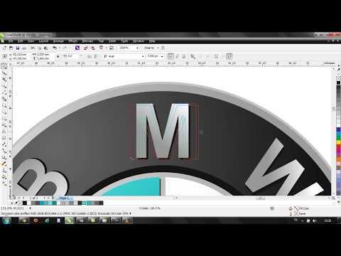 Corel Draw x6  logo BMW çizimi nasıl yapılır ? 2017 Corel Draw Dersleri