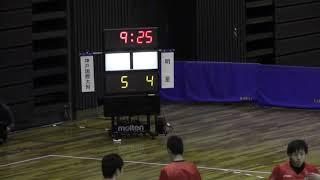 ハンドボール 全国高等学校選抜大会 明星対神戸国際附属(前半)