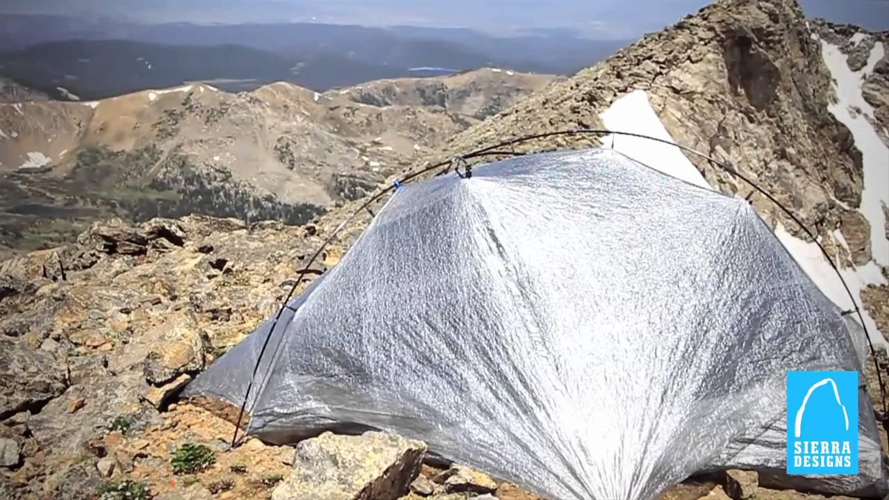 Sierra Designs Tents Mojo UFO & Sierra Designs Tents: Mojo UFO - YouTube