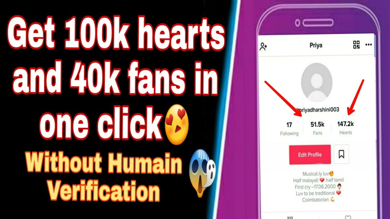 Musically Fans And Hearts Without Human Verification   Sante
