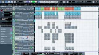 Cubase 5 Tutorial - Make Electro House Music - How To Sound Like No.7 - Fedde Le Grand