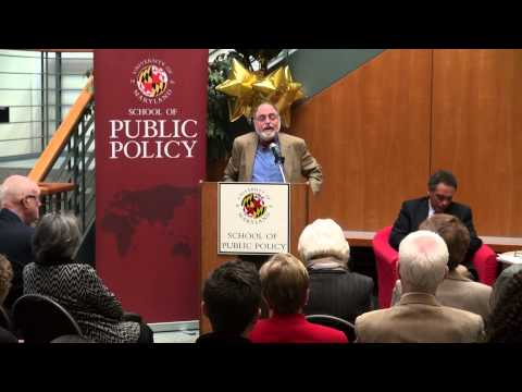 UMD School of Public Policy | Brody Forum-So Rich, So Poor | Peter Edelman