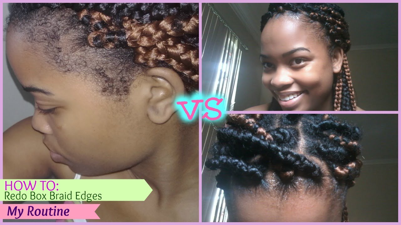 natural hair care   how to: refresh box braids   grow/maintain