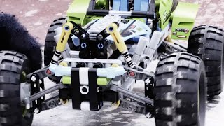 LEGO® Technic - Formula Off-Roader Challenge – Who will win the race?