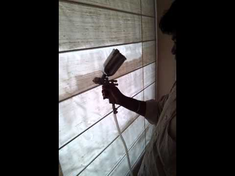 Instant curtain cleaning