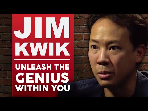 JIM KWIK - UNLEASH THE GENIUS WITHIN YOU - Part 1/2 | London Real