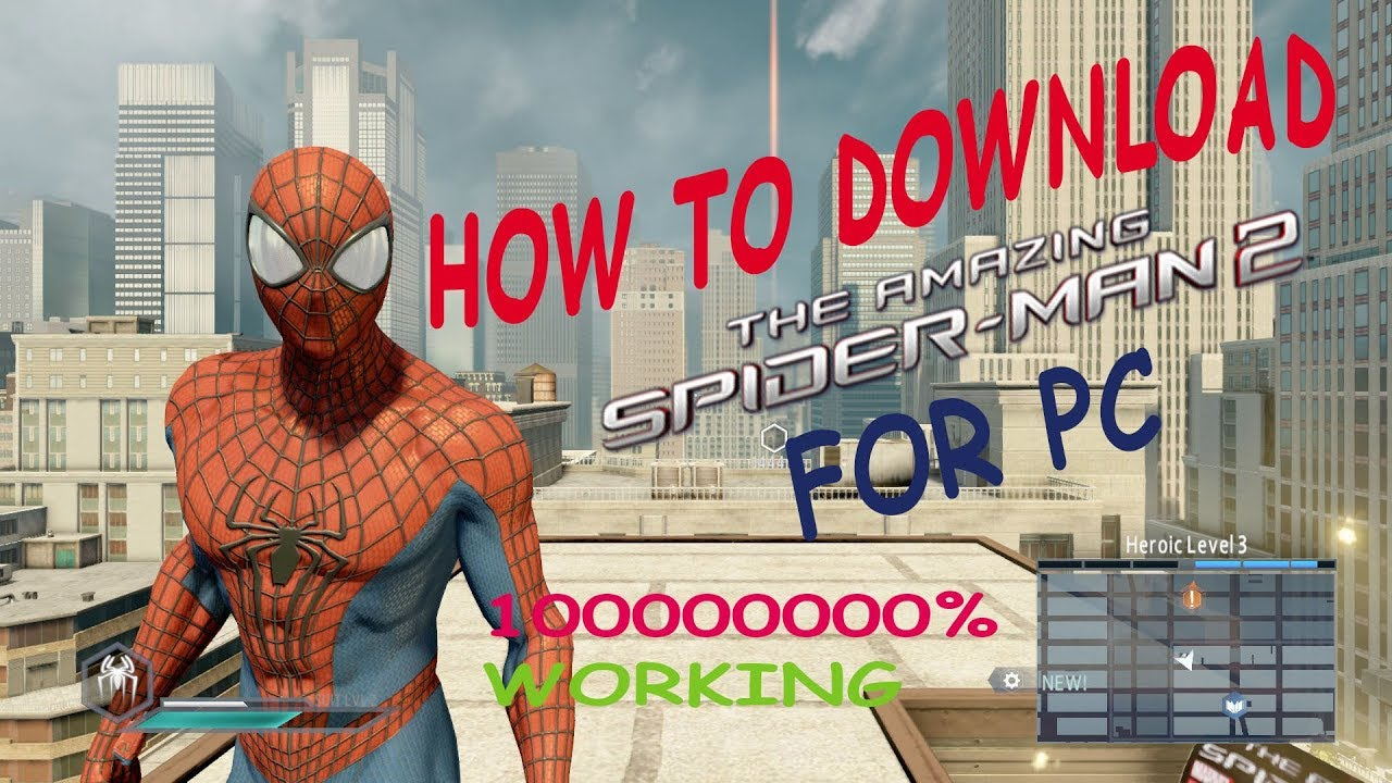 The amazing spider man 2 pc download for utorrent youtube.