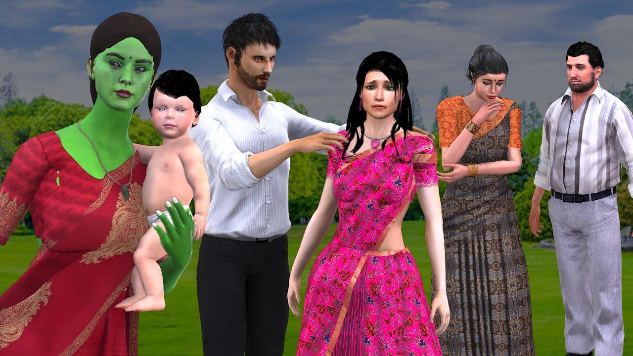 நல்ல பேய்  - Good ghost part 7- Tamil Stories -Tamil New Stories - Tamil Comedy Stories -Grandma Tv