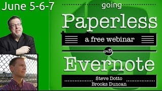 Going Paperless with Evernote - Webinar Replay