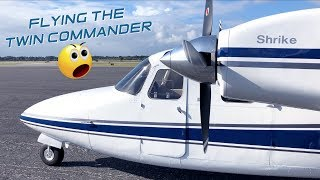 First Time Flying A Multi Engine Aircraft| Twin Commander 500S