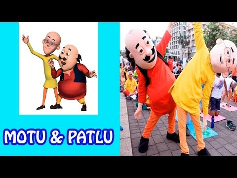 Motu Patlu Characters In Real Life 2018 Funny Video Prikoly