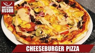 REZEPT: DOMINO'S CHEESEBURGER PIZZA - MIT 4 MINUTEN BLITZTEIG - schnell und einfach selber machen!
