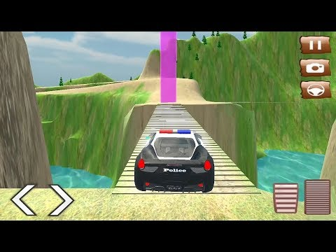 Police Car Mountain Road Racing Game || Police Car Racing game || 3d car racing game