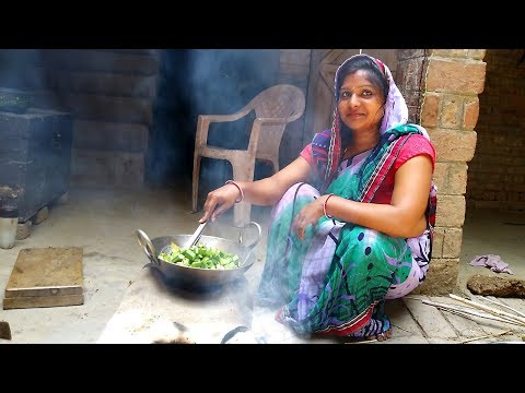 DAILY INDIAN KITCHEN ROUTINE 2018 | INDIAN LUNCH ROUTINE | INDIAN VILLAGE COOKING