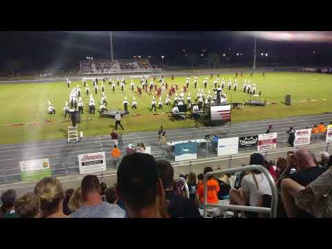 Braden River HS Marching Band 2017/10/14