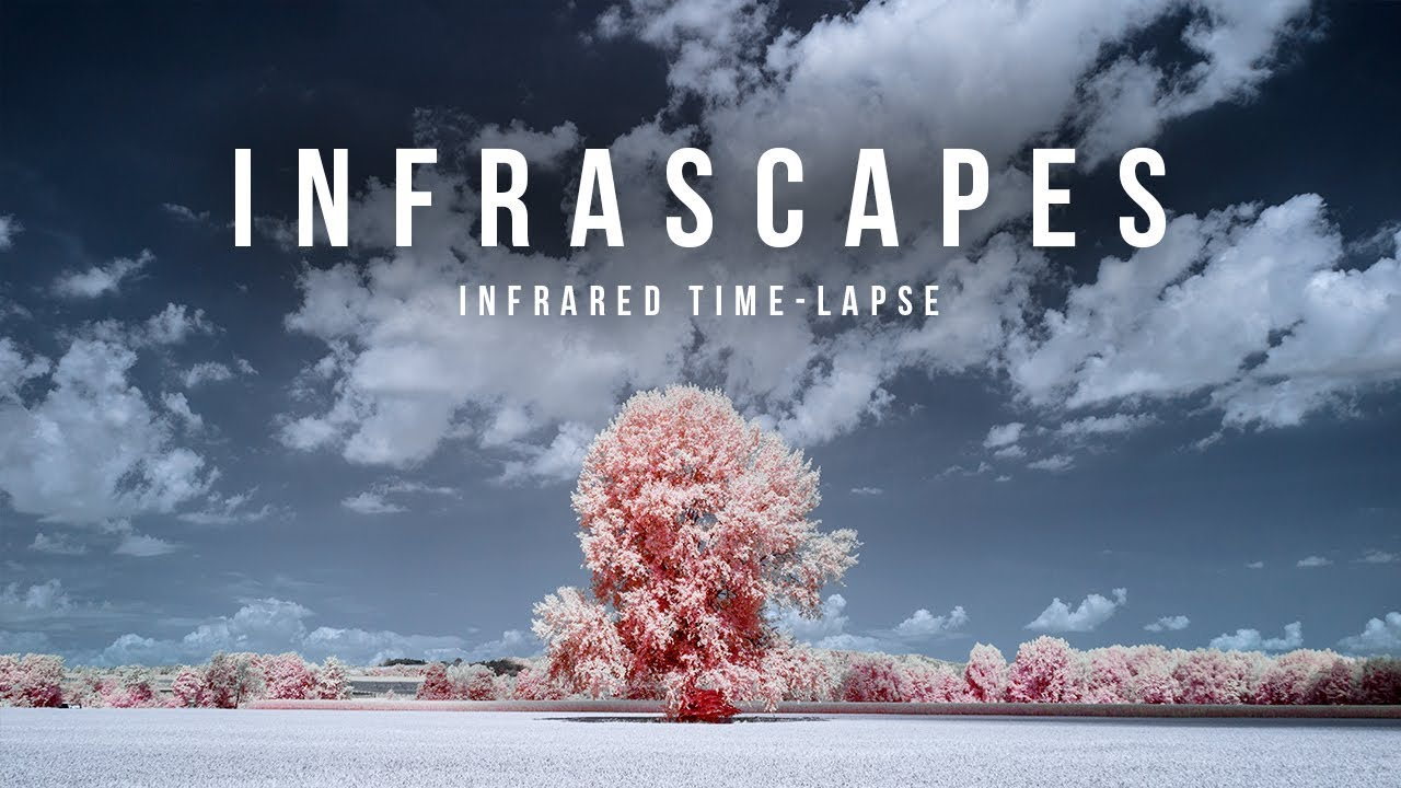 A Stunning Time-lapse Video Shot with Infrared Photography