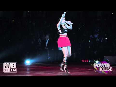 Nicki Minaj LIVE: Sh!#tin On Em Performance at POWERHOUSE