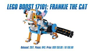 LEGO Boost 17101: Frankie the Cat test