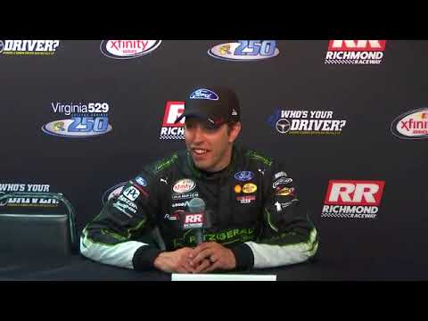2017 NASCAR Richmond Xfinity Post race Q&A