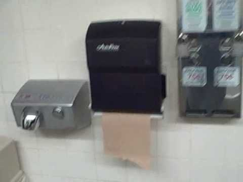 Paper Towel Machine Recovering From Beating