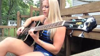 "Keane ""Somewhere Only We Know"" Acoustic Bass and Vocal Cover"