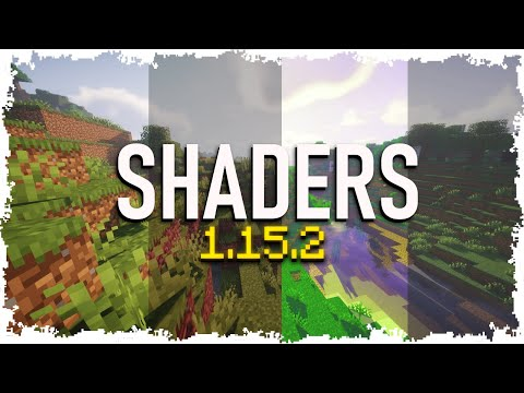 How To Install *NEW* Shaders For Minecraft 1.15.2 (2020)