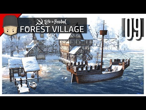 Life is Feudal Forest Village - Ep.09 : The Port & Expeditions!