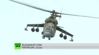 В операции ВКС РФ в Сирии принимает участие «Летающий танк»  Ми 24