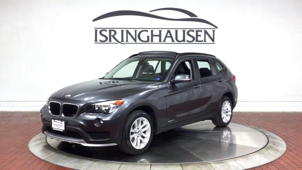 2015 BMW X1 XDrive28i In Mineral Gray Metallic