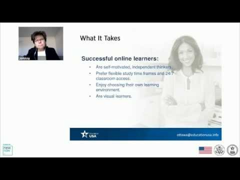 Webinar: Distance Learning in the United States
