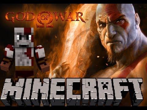 Minecraft God Of War O Mapa Ep1