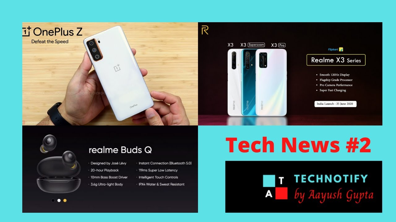 Oneplus Z Listed On Amazon Realme X3 Series Realme Buds Q