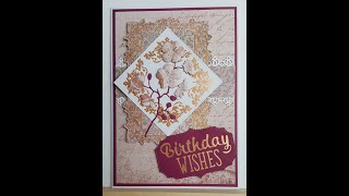 Using Couture Creations Treasured Frames Cut, Foil and Emboss dies with Paper Pads
