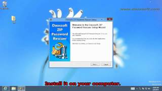 Daossoft ZIP Password Recovery User Guide