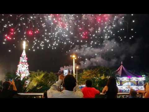 Firework at Mall of Asia Manila, NY 2018