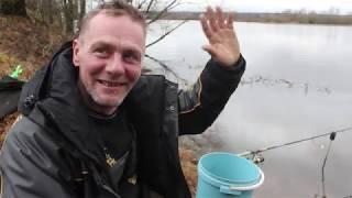 Фидер в феврале Рыбалка в Беларуси Река Вилия