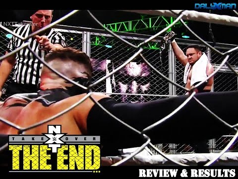 NXT TakeOver: The End Review & Results || Samoa Joe vs. Finn Balor Steel Cage, WWE NXT June 8th 2016