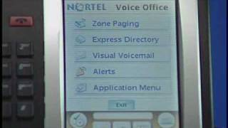 Nortel 2007 Zone Paging