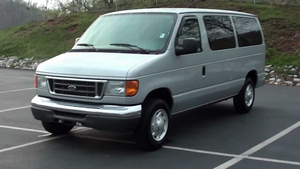 FOR SALE 2007 FORD E 150 XLT 8 PASSENGER VAN 42K MILES STK P6080A Lcford