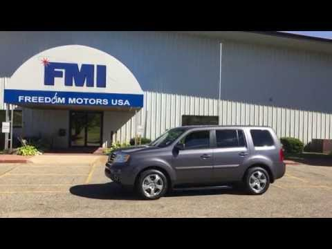 Brand New 2015 Honda Pilot EX-L W/ Navigation Wheelchair Accessible Manual Side Entry 1-800-625-6335