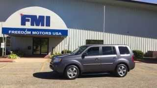 Brand New 2015 Honda Pilot EX-L W/ Navigation Wheelchair Accessible Manual Side Entry Freedom Motors