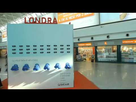 Unicredit Banca: The Cube, Ups and Downs Ambient