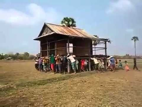 How to Move a House in Cambodia