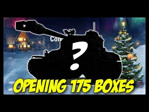 ► Opening 175 Christmas Boxes - You Are Amazing! - World of Tanks Christmas Special thumbnail