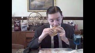 Burger King Extra Long Buttery Cheeseburger - Food Review