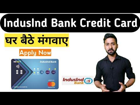 How To Apply IndusInd Bank Credit Card Online | क्रेडिट कार्ड अप्लाई ऑनलाइन । IndusInd Bank