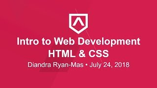 Lesson II - HTML & CSS - Section 5 - Intro to Web Dev